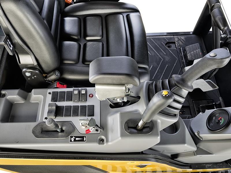 SV15VT minigraver med lukket kabin sterk og komfort
